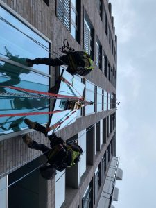 high level glass replacement central london