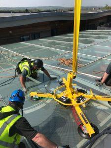 atrium glass replacement