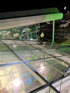 atrium glazing inspection