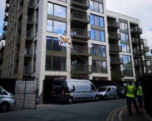 high level glass replacement with tag lines